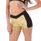 Sequin Block Short : G305