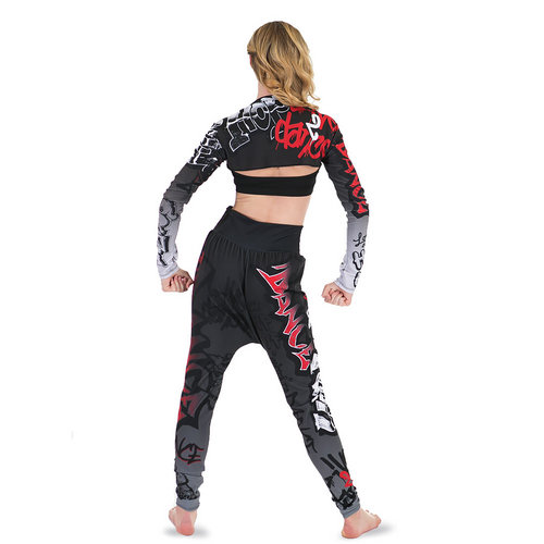 Girls Hip Hop Jogger Pant : G306C