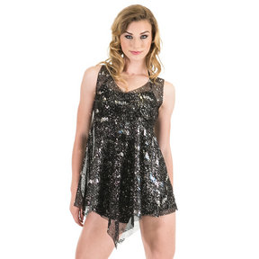 Adult Sparkle Mesh Overdress
