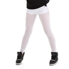 Stripe Mesh Legging : G320