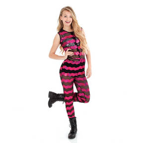 Sequin Stripe Jumper