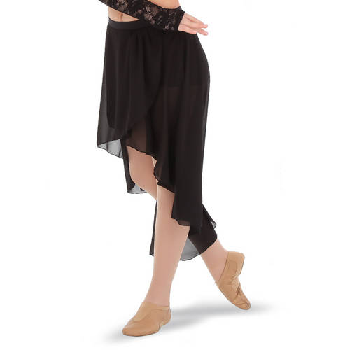 Youth Hi-Low Georgette Skirt : G322C