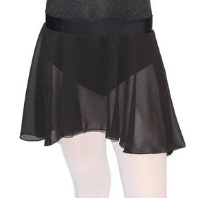 Georgette Pull On Skirt