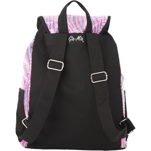 Zebra Sequin Backpack : GMB2