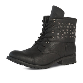Womens Studz Convertible Combat Boot