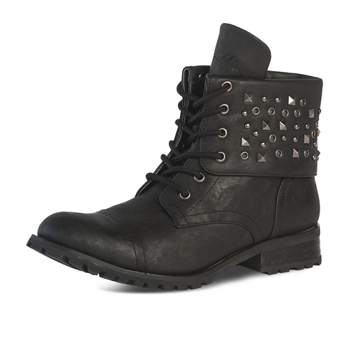Womens Studz Convertible Combat Boot : GS10W