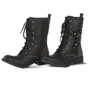 Womens Star Combat Boot