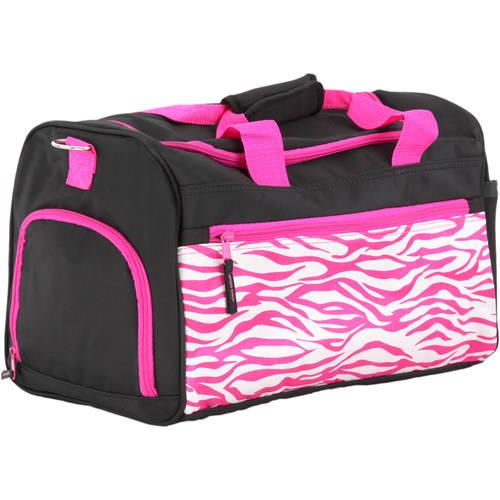 Pink Zebra Duffle Bags : 3210