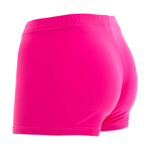 Fuchsia Microfiber Dance Shorts : 1432