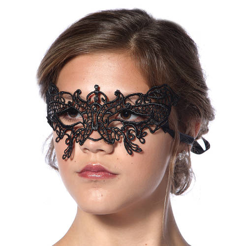 Fitted Lace Half Mask : 48135
