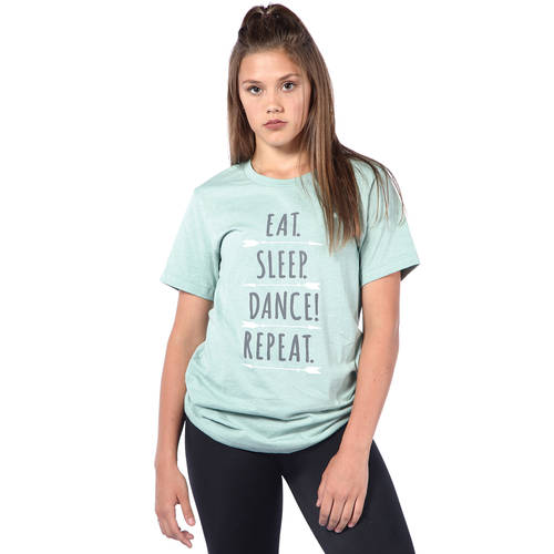 Eat Sleep Dance Repeat Tee : LD1276