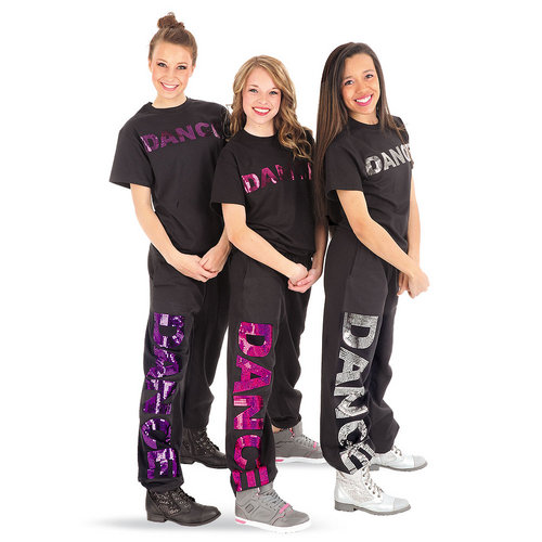 Sequin Dance Sweatpants : GAR-245