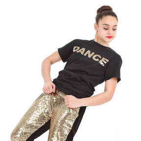 Sequin Dance Tee