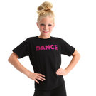 Sequin Youth Dance Tee : GAR-252C