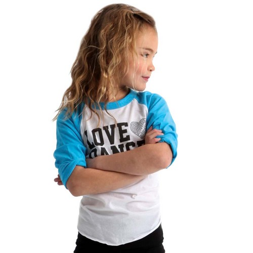 Youth Dance Baseball Tee : GAR-281C