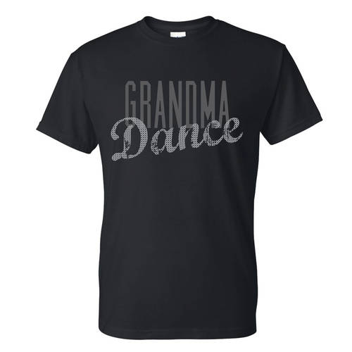 Dance Grandma Sequin Tee : GAR-405