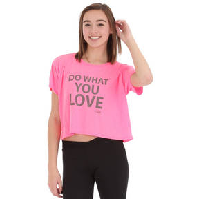 Do What You Love Crop Tee