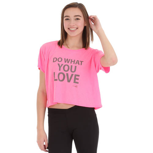 Do What You Love Crop Tee : JFK-216