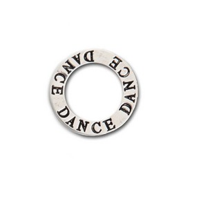Dance Message Pendant Silver One Size