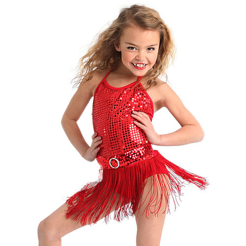 Picture Perfect Fringe Dress: M272