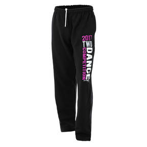 2017 Black Together We Dance Competition Sweatpants