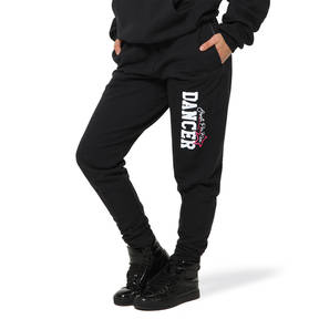Youth Black Elastic Sweats