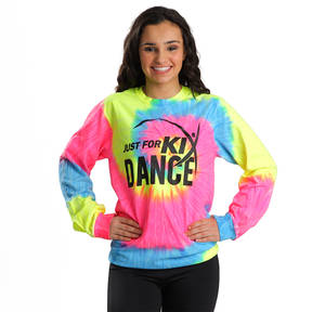 Youth Neon Rainbow Tye Dye JFK Dance