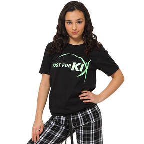 Youth Just For Kix Glitter Flake Tee
