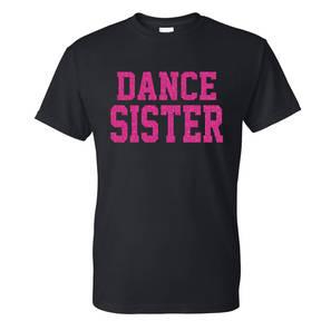 Glitter Flake Dance Sister Tee