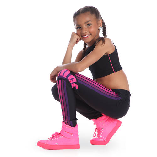 Youth Dance Midrise Legging : JFK-631C
