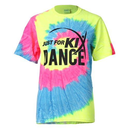 Just For Kix Short Sleeve Tie-Dye T-shirt : JFK-634