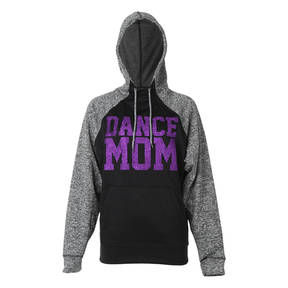 Dance Mom Glitter Flake Sweatshirt