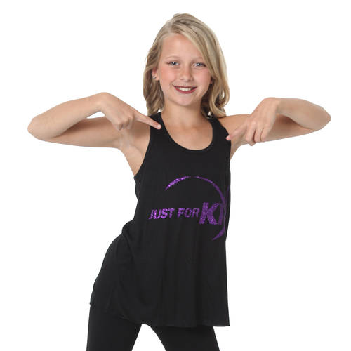 Youth JFK Glitter Tank : JFK-645C