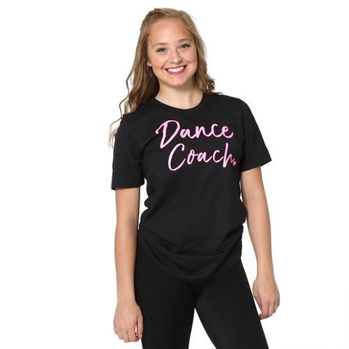 Dance Coach Glitter Tee : JFK-652