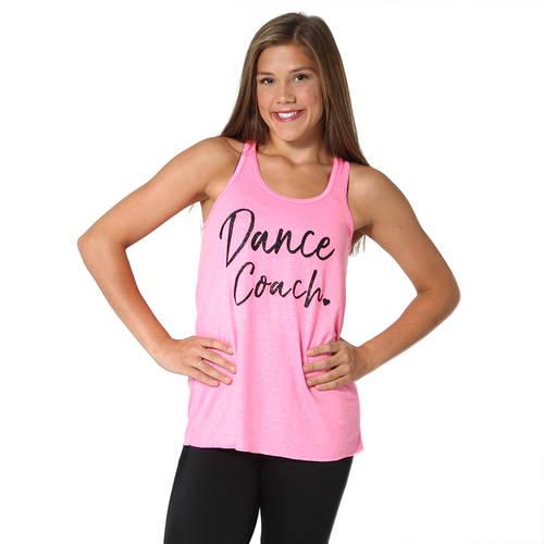 Dance Coach Glitter Tank : JFK-654