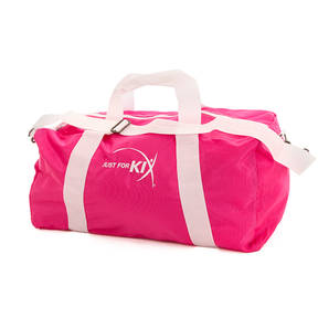 Large Pink Just For Kix Duffel Bag