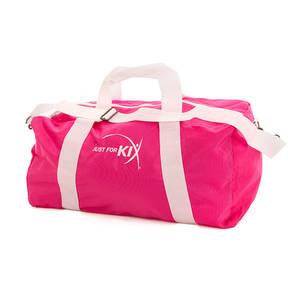 Large Pink Just For Kix Duffel Bag