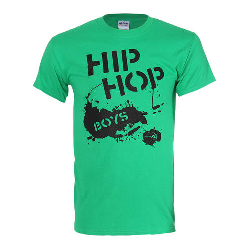 Boy's Hip Hop T-shirt Green : T0025G