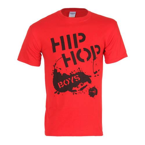Boy's Hip Hop T-shirt Red : T0025R