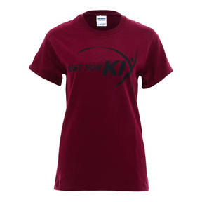 Maroon Just For Kix Dance T-Shirt