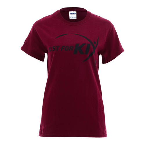 Maroon Just For Kix Dance T-Shirt : T0074M
