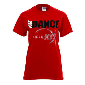 Just For Kix Dance Parent T-Shirt