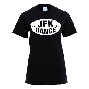 Just For Kix JFK Football Screenprint Dance T-Shirt