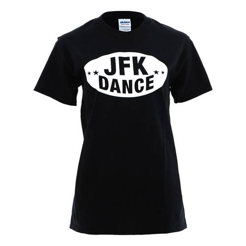 Just For Kix JFK Football Screenprint Dance T-Shirt : T0090