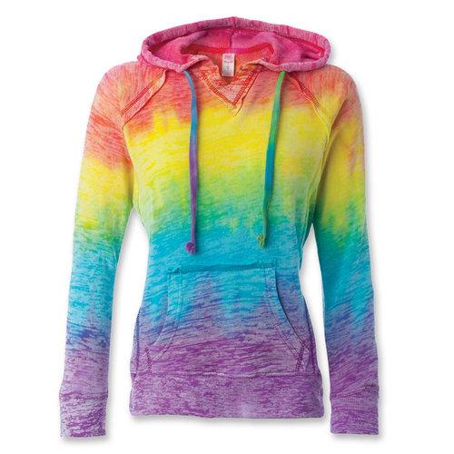 Rainbow Tie Dye Sweatshirt : W1162