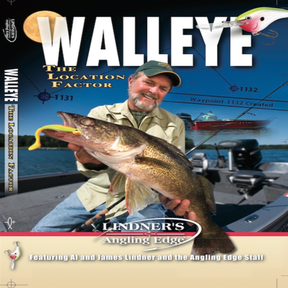 Walleye the Location Factor - Angling Edge DVD