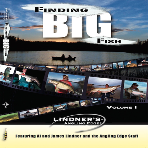 Finding Big Fish - Angling Edge DVD