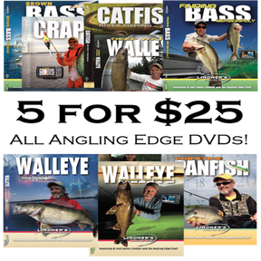 5 for $25.00 DVD Special Offer