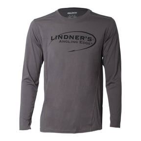 Charcoal Grey Long Sleeve Performance T-shirt