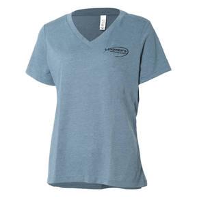 Lindner's Angling Edge V-Neck T-Shirt